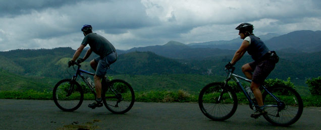 Cycling in Yeoor hills