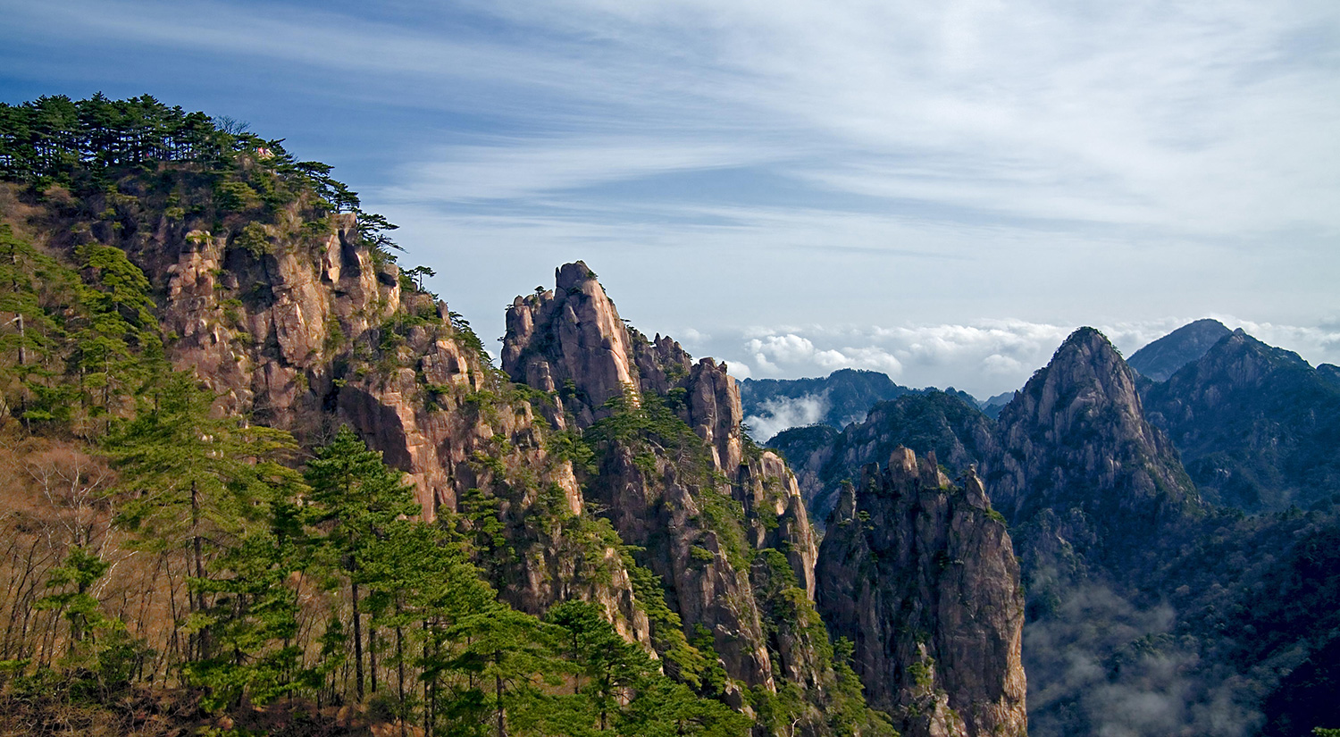 Greatest Mountains of the World- Huangshan