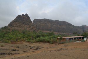 Kalavantin(Left Side) And Prabalgad (Right Side) . Click from Prabalmachi