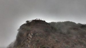 People at top of the Prabalgad