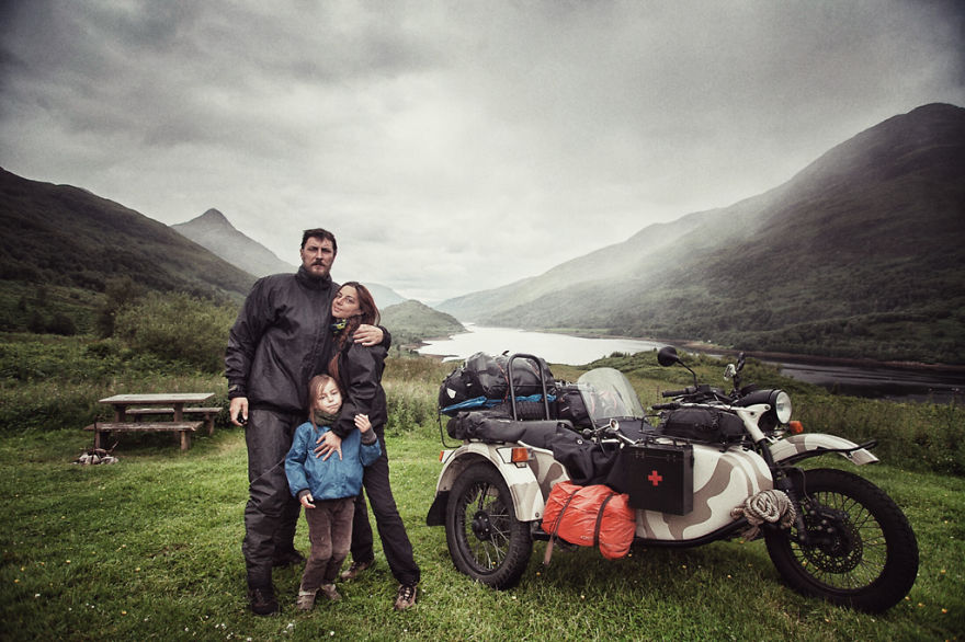 couple travels across europe with 4 year old