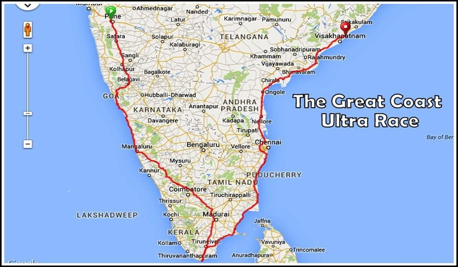 The Great Coast Ultra Race - 1st Edition