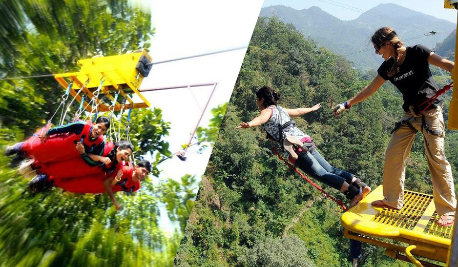 Bungy Jumping & Flying Fox (Tandem) Combo