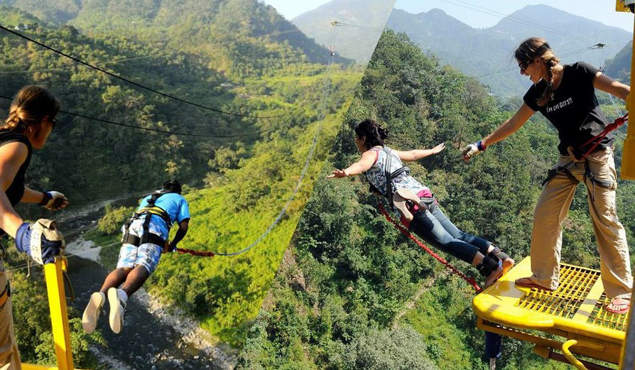 Bungy Jumping & Giant Swing Combo