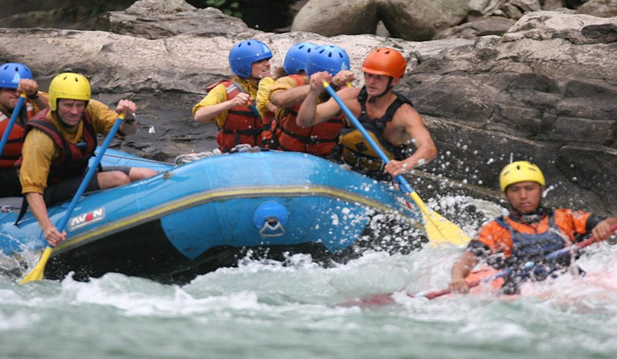 Rafting In Tons