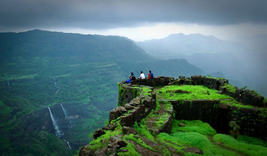 Image result for Rajmachi Fort Trek images
