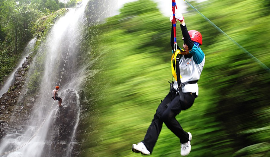 Team Outing - Waterfall Rappelling & Flying Fox At Lonavala