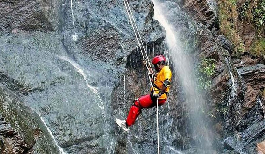 Waterfall Rappelling at Madhe Ghat - The Adrenaline Rush