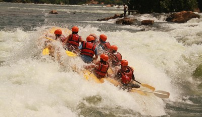 White Water Rafting at Kolad