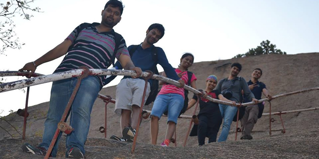 Night Trekking And Rappelling At Ramanagara Adventures365 In